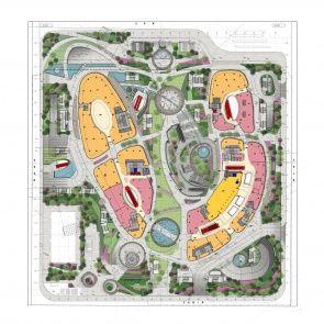 Parc Central Floor Plan Mall Design Schematic Design Site Plans