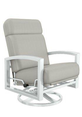 Lakeside Cushion Swivel Action Lounger Tropitone Patio Chairs Rocking Chair Chair