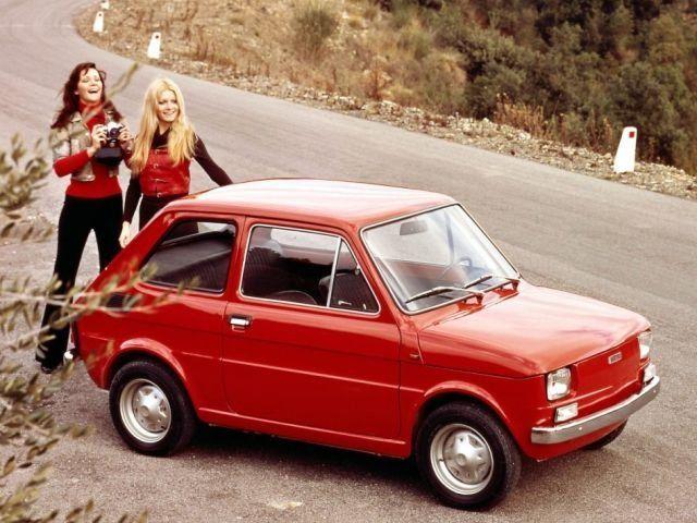 Fiat 126p Fiat 126 Fiat Small Cars