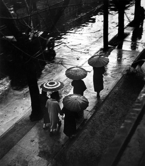 WITT, Bill Rain Day in the City, c.1939-40