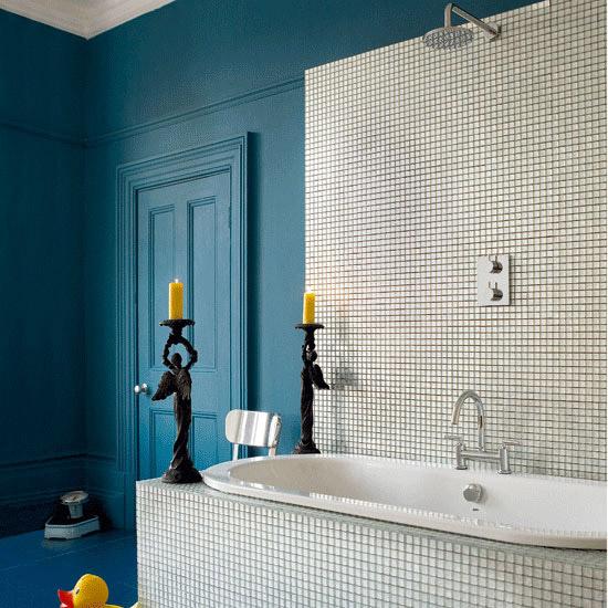 boja za plocice - Google pretraživanje | Blue bathrooms ...