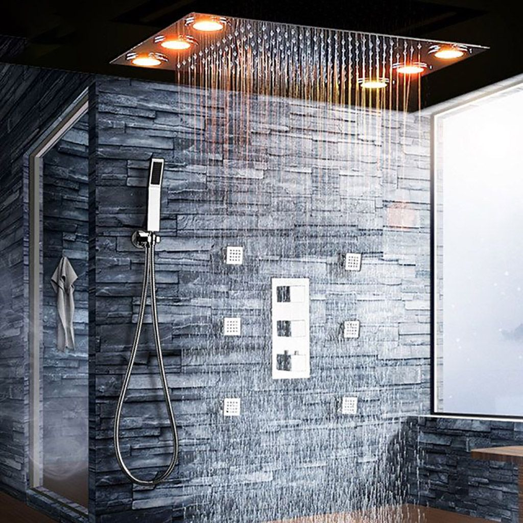 Quite Possibly The Ultimate Rainfall Shower In 2020 Rain Shower
