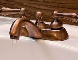 Photo of Image result for copper bathroom fixtures