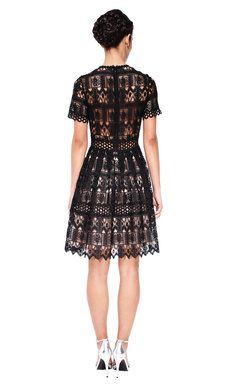 ALEXIS Lace Aline Dress