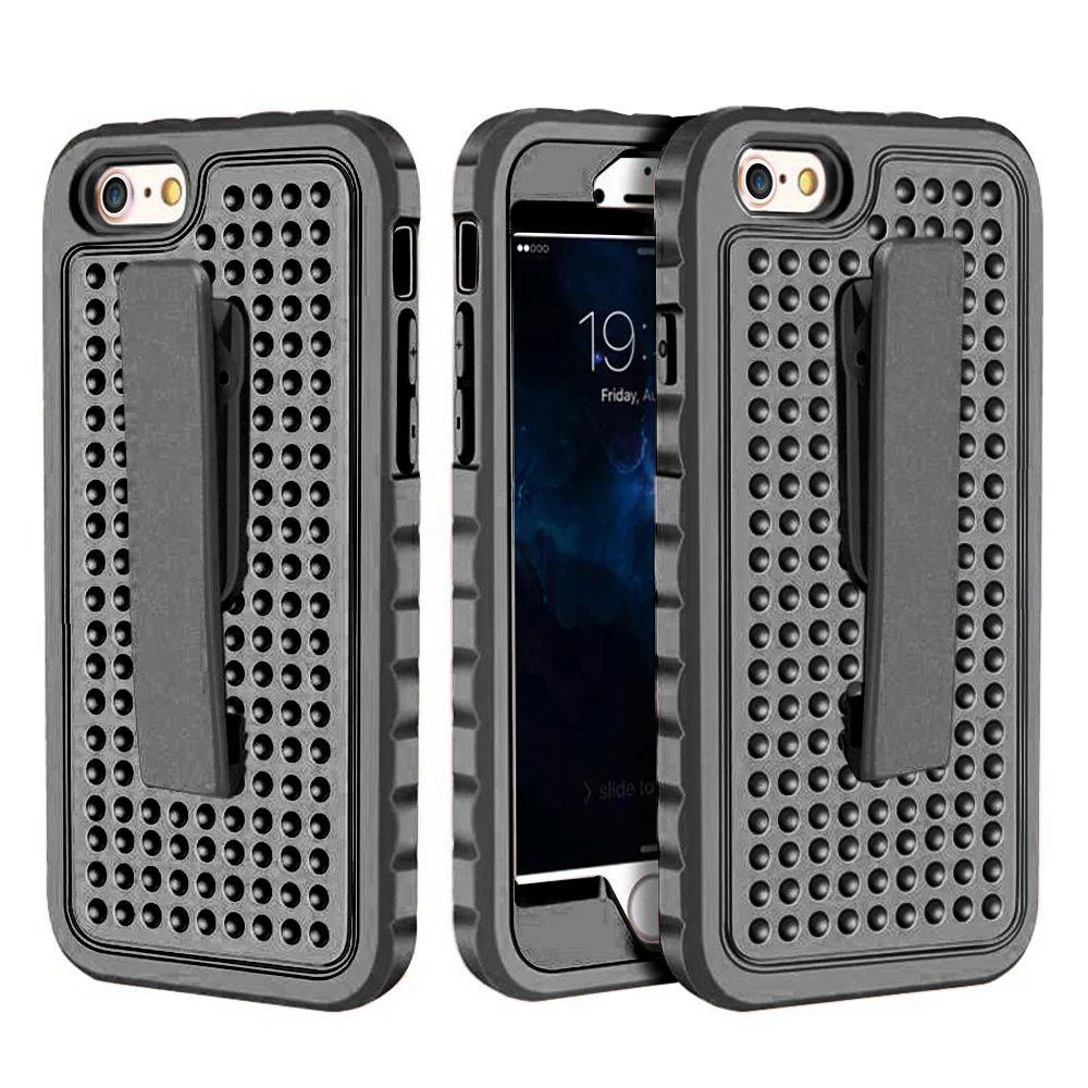 2017 New Design Belt Clip Tough Slim Shock Proof Armor Back cover case for Apple iPhone 7 Plus Cell Phone cover for iPhone 7