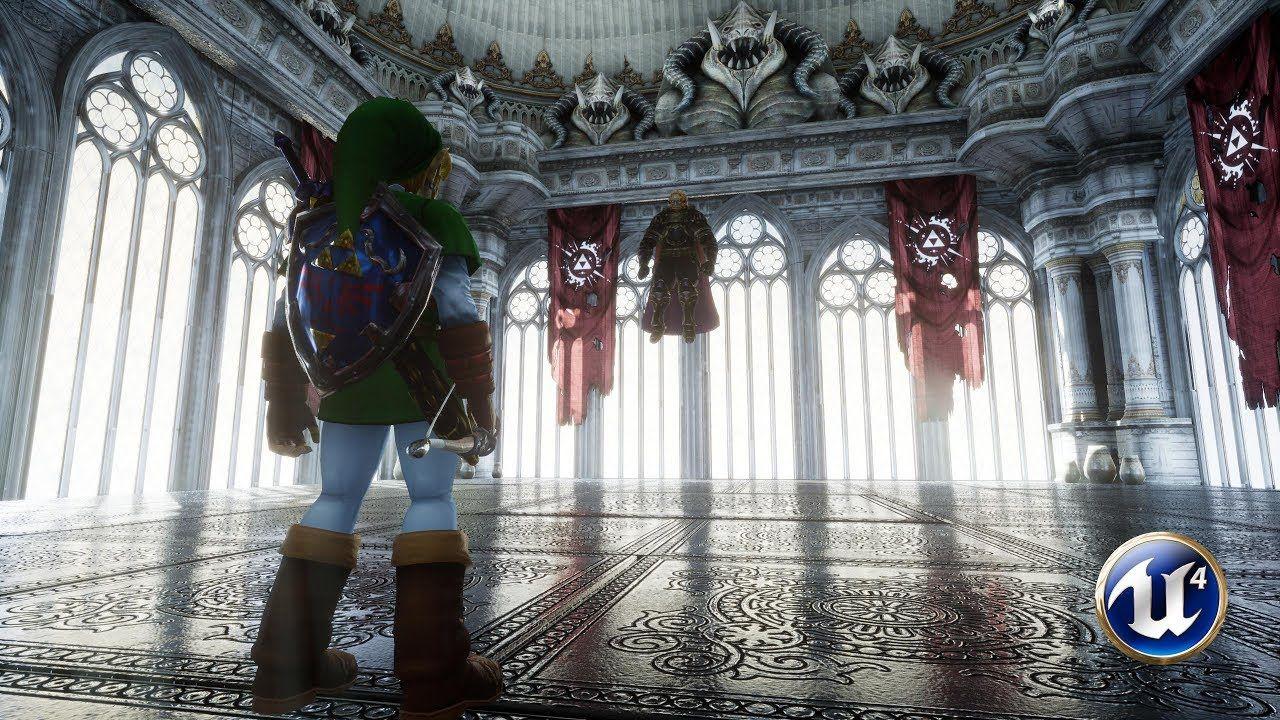 Unreal Engine 4 Ganondorf Fight Zelda Ocarina Of Time