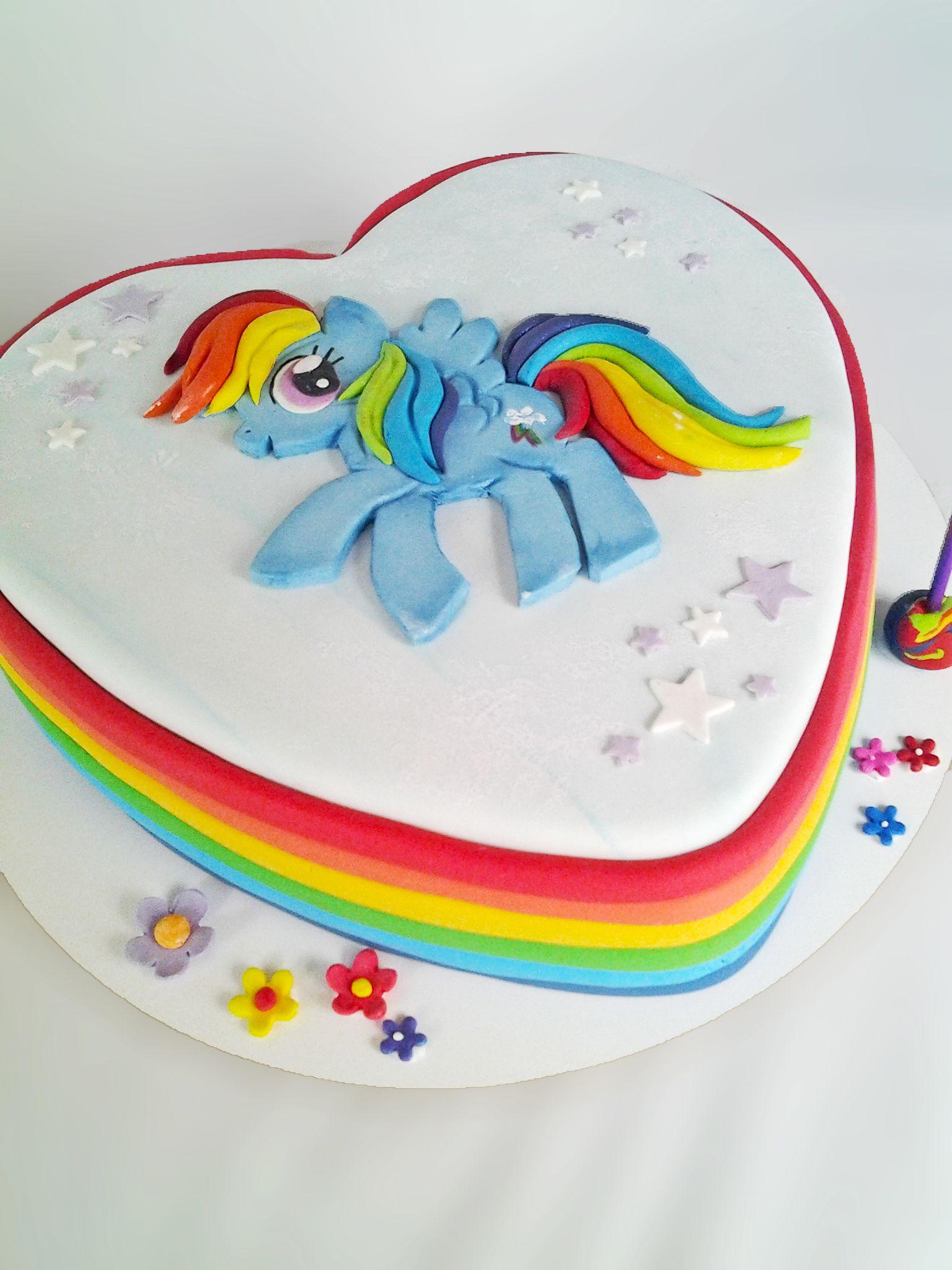 Torta My Little Pony Rainbow Dash Tortas Con Personajes