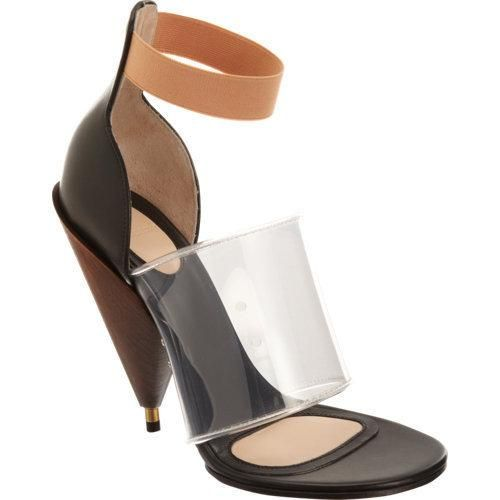 givenchy banded cone heel sandal