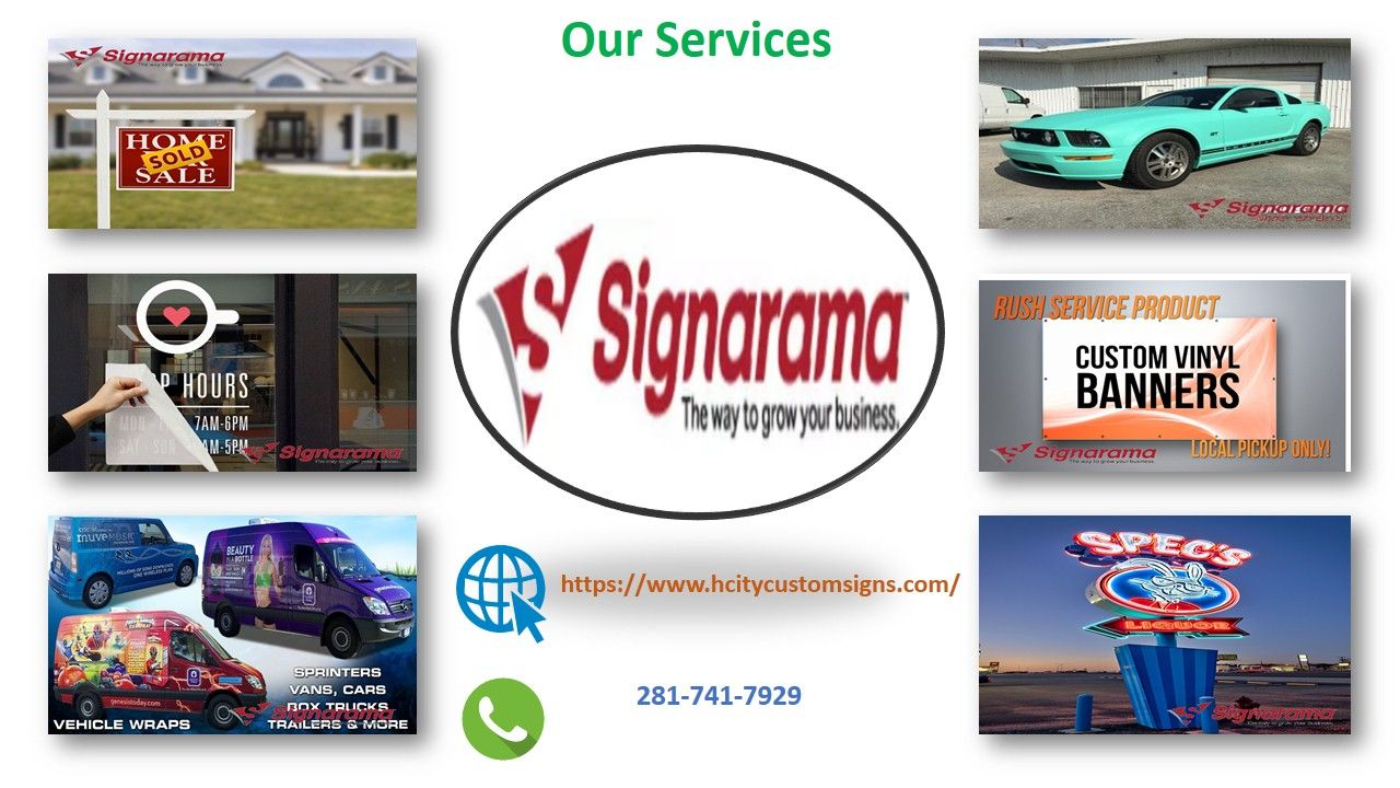 The Hcitycustomsigns company provides the best vehicle