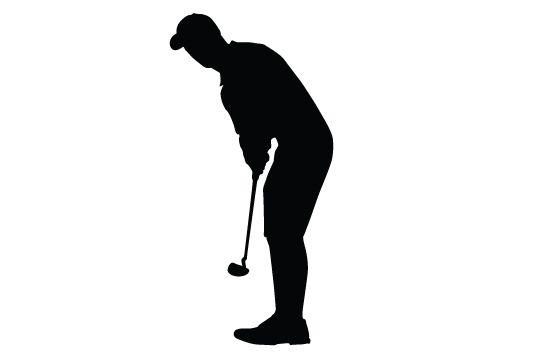 Golf Silhouette Vector Sports Vector Graphics Pinterest Golf