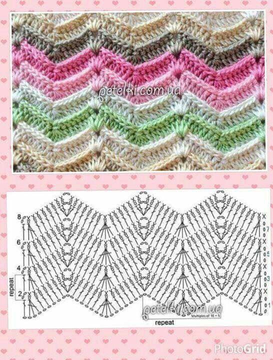 Pin de Eulalia Cardenas Forero en muestras crochet lala | Pinterest ...