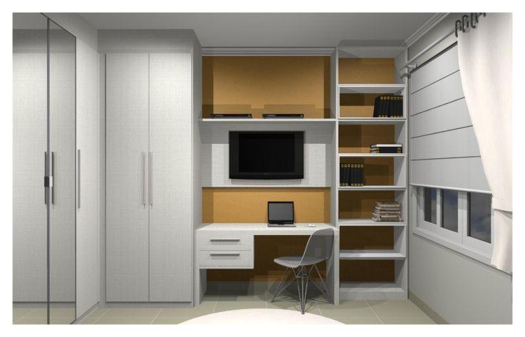 bancadas criativas para quarto