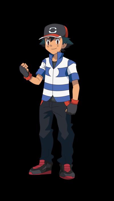 New Ash Ketchum Pokemon Sun and Moon 2016