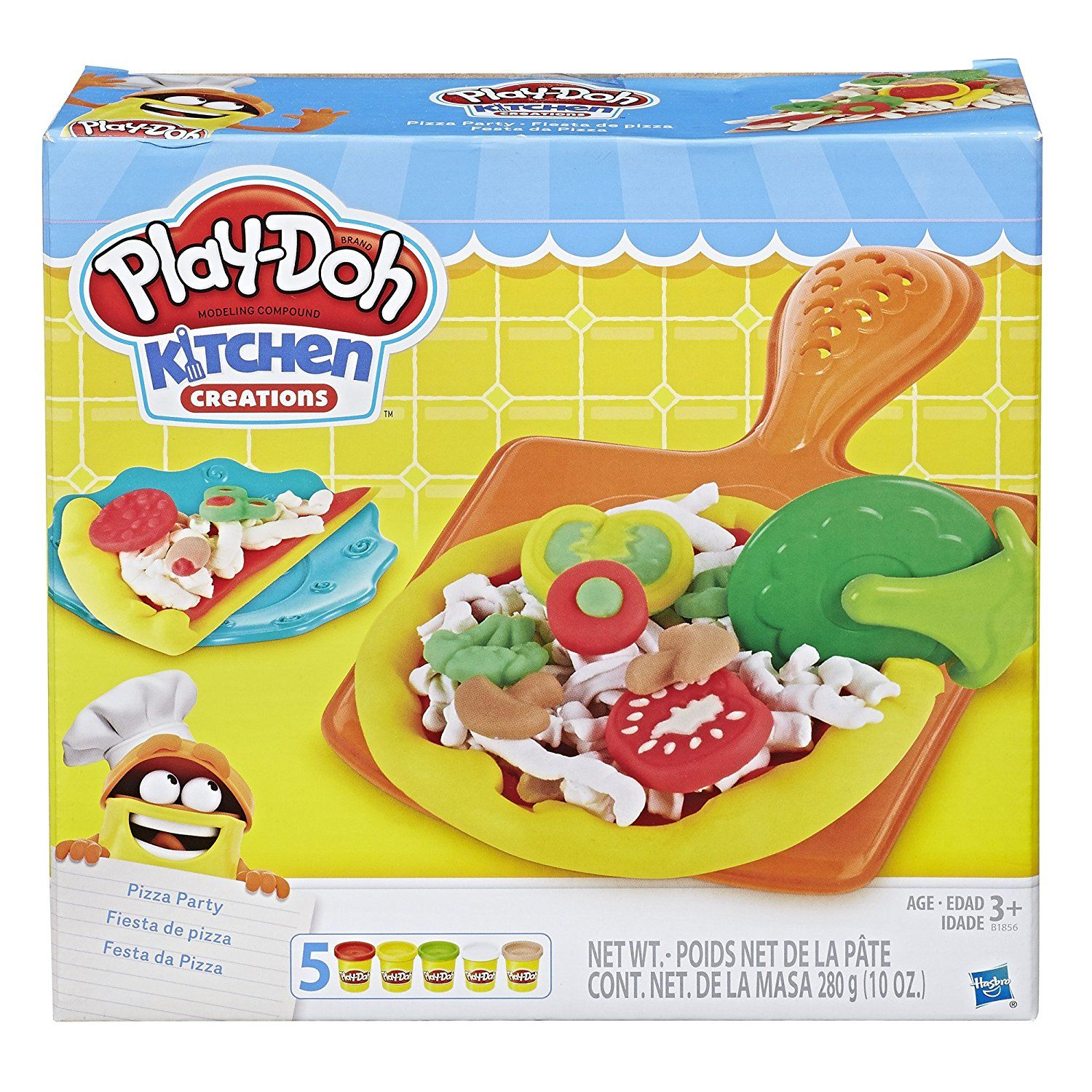 Play Doh Kitchen Creations Pizza Party 6 99 Play Doh Kitchen Pizza Party Play Doh