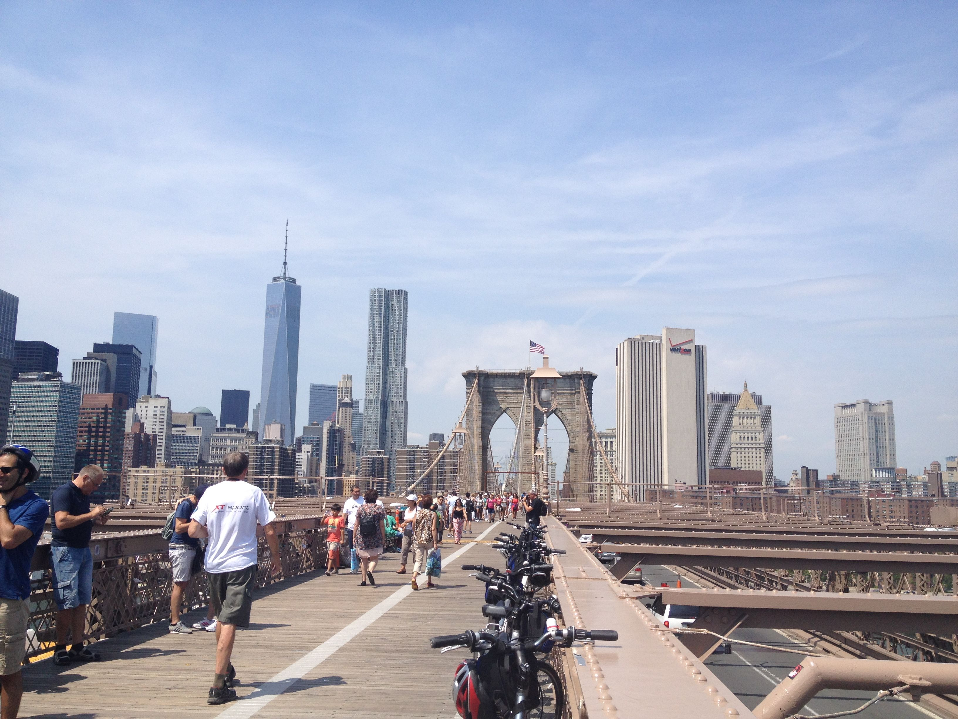 Bike and Roll Brooklyn Bridge tour