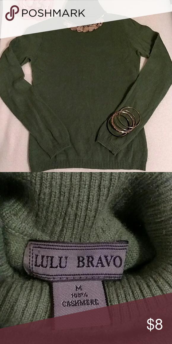 91fffd24ffe Cashmere Turtleneck Sweater 100% Cashmere Turtleneck Sweater Size M ...
