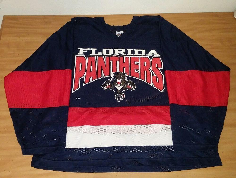 best service bfb9c 2af19 True-Fan Sportswear Florida Panthers NHL Fan Hockey Jersey ...