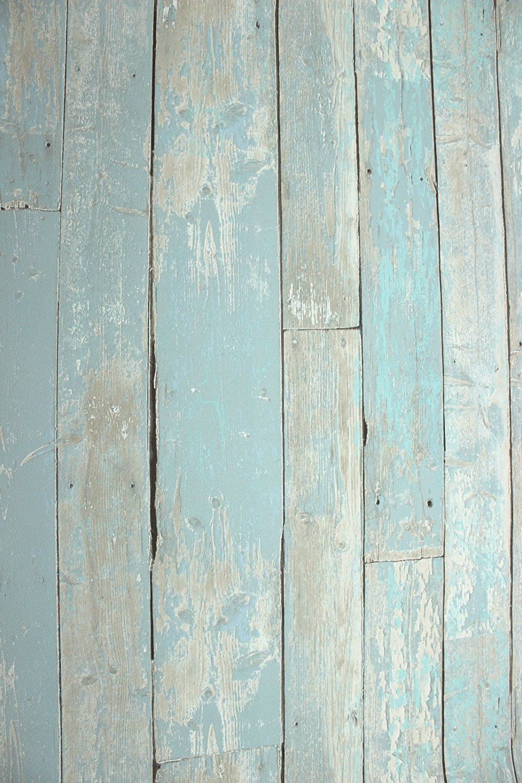 vlies tapete antik holz rustikal blau türkis beige verwittert, Schlafzimmer entwurf