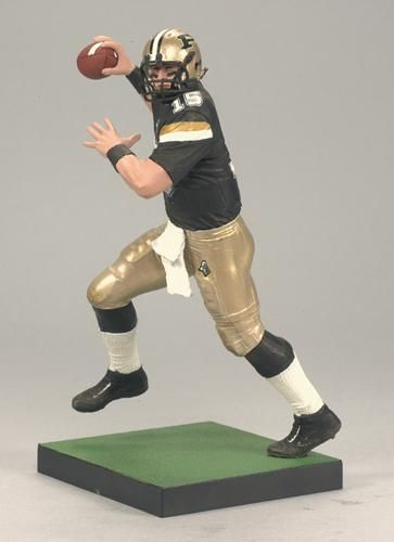 Drew Brees College Football Series 2 McFarlane  	Purdue Boilermakers Ship for $ 7.99