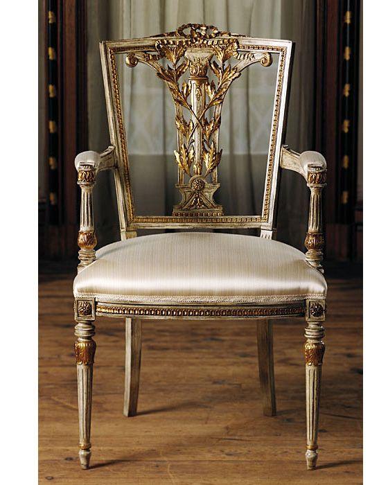 Chairs Luxury Italian Furniture Hepplewhite Style
