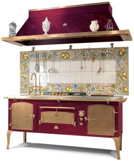 Vintage Italian Kitchen Decor: Antique Appliances By Restart Srl