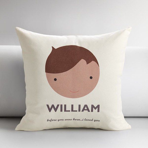 Personalized Kids Faces Pillow Covers | Gift Ideas: Babies ...
