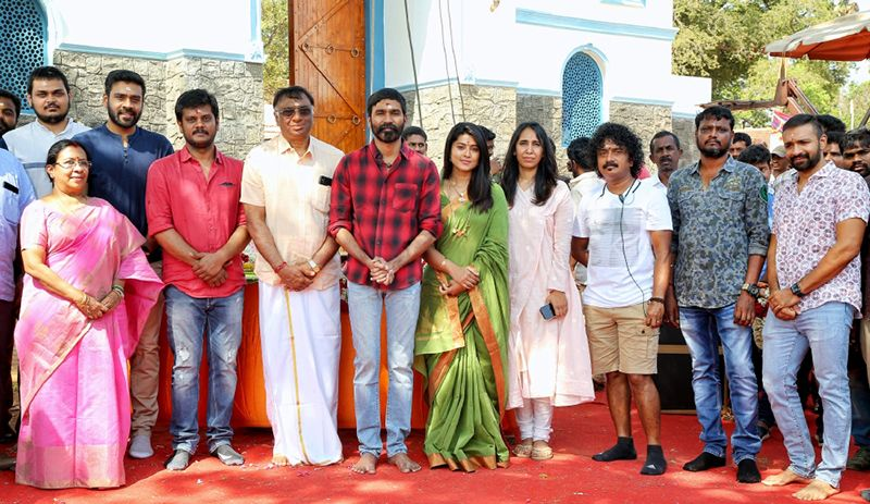 """Sathya Jyothi Films' """"Production No.34"""" starring Dhanush in lead role"""