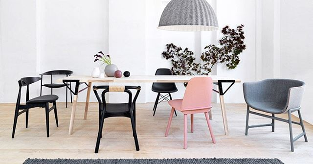 Pantone Inspiration Scandinavian Dining Table Dining