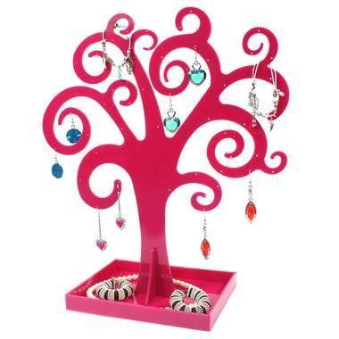 Présentoir Curly Tree Pour Boucles Doreilles Et Autres Bijoux - Porte boucle d oreille gifi