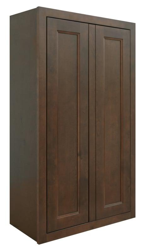 Sunny Wood Hbw2442 A Rich Walnut Healdsburg 24 X 42 Double Door Wall Cabinet Wall Cabinet White Wood Kitchens Walnut Kitchen Cabinets