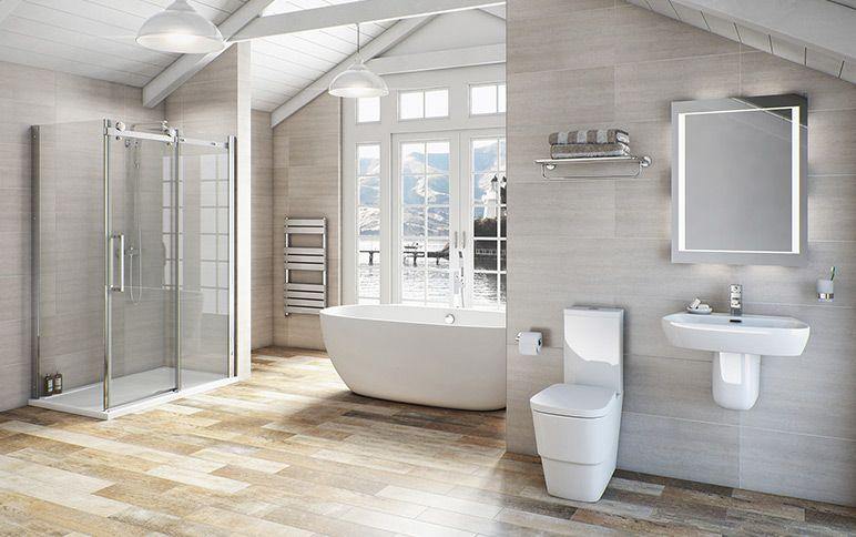 Princeton Bathroom Suite Range Victoria Plumb Clean White And Simple Bathroom Inspiration Contemporary Bathroom Inspiration Bathroom Suite