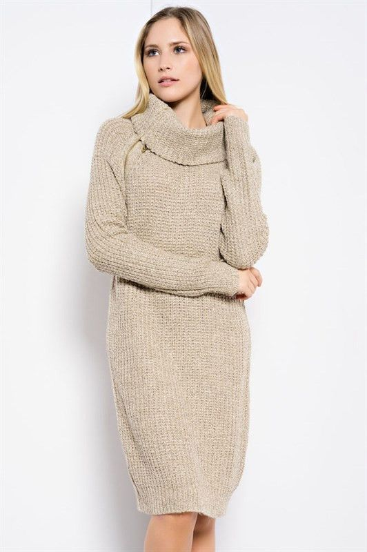 e51275822ff Snuggle Weather Oversized Sweater Dress