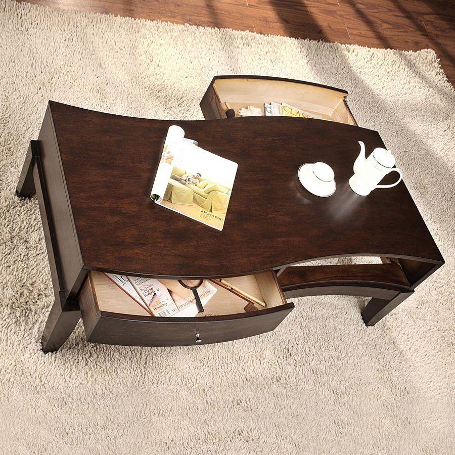 Furniture Of America Cm4035c Mans Coffee Table Espresso Home Showroom