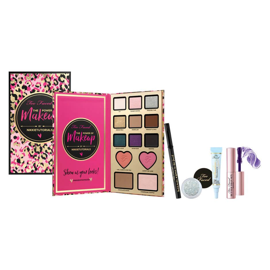 """TOO FACED x Nikkie Tutorials """"The Power of Makeup"""" Collection from MECCA MAXIMA $80.00"""