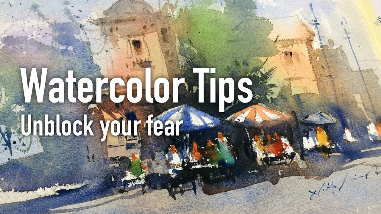 Best Watercolor Tips And Working Session For Beginner S Aquarell