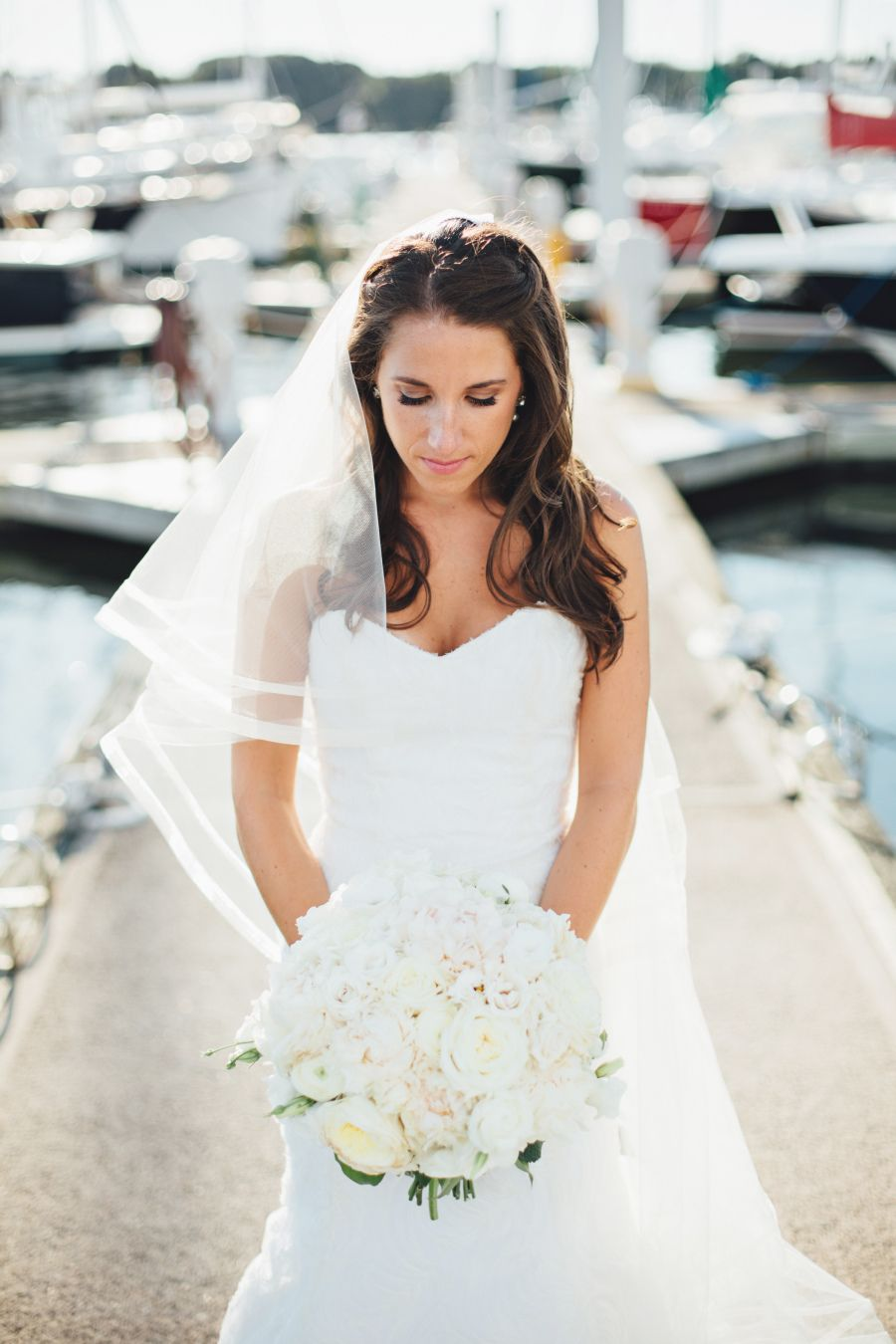 Classic Riverside Yacht Club Wedding with Nautical Touches