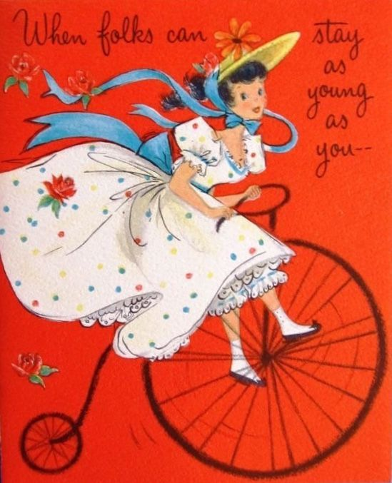 pindaniele on teens girls vintage birthday cards