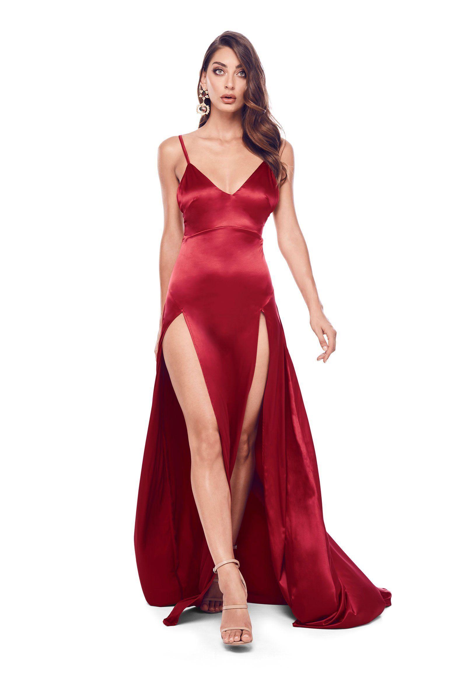 Alexis cherry red in promhoco pinterest cherry red