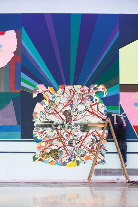 Franz Ackermann Colors Of The City Mental Maps 2d Art Visual Art Artist Inspiration
