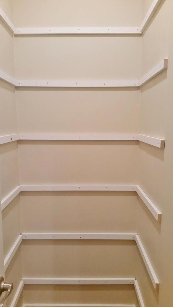 Floating Warp Around Shelves Ideas 21 Pantry Makeover Pantry