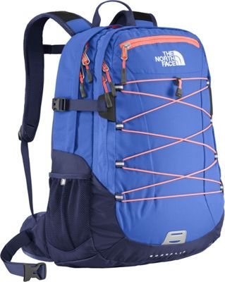 c7d9e6c6851 The North Face Women's Borealis Laptop Backpack Coastline Blue/Electro  Coral Orange - via eBags.com!