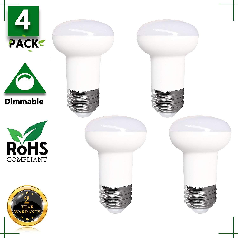 7 Watt Led R16 65 Watt Equivalent Wide Floodlight Led Bulb E26 Medium Base Dimmable 5000k Daylight White Cri 85 120 Volt 700 Lum Led Bulb Indoor Lighting Bulb
