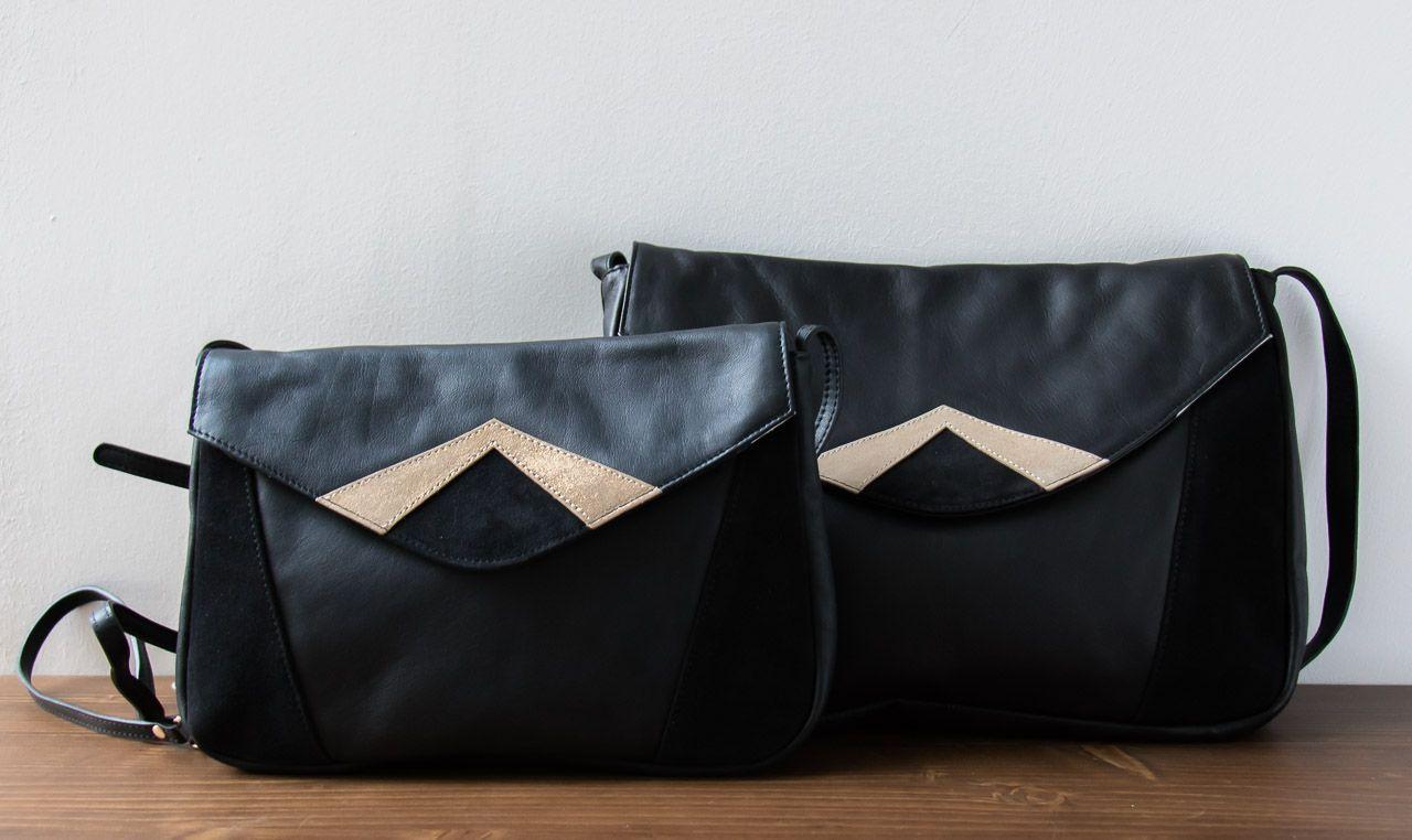 taille 40 c3b0f 26812 Sac en cuir Colette de Lili Cabas chez | Maison Mathûvû / L ...