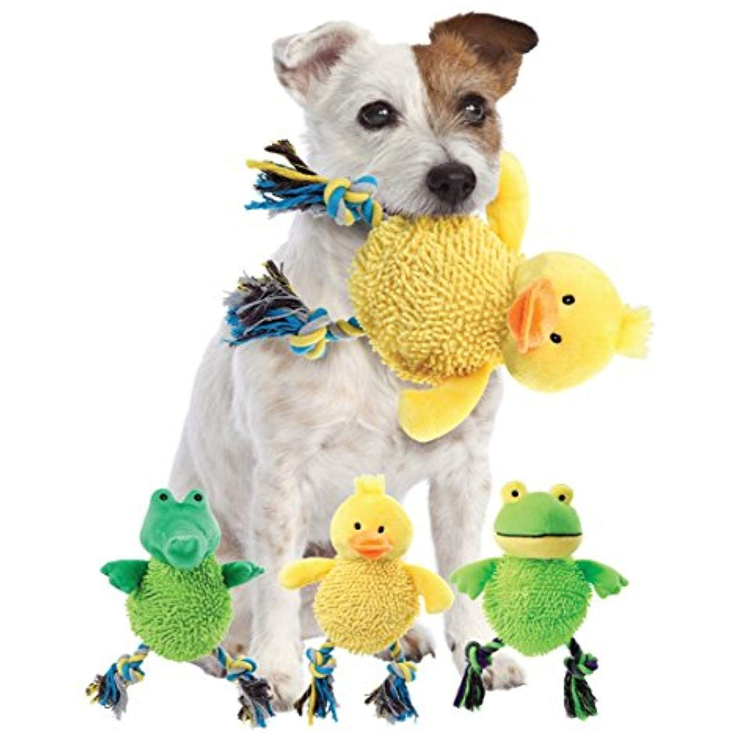Etna Products Tt Laughing Dog Toy Makes A Fun Chuckling Sound When