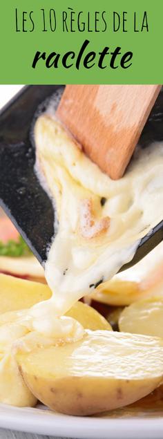 les 10 r gles de la raclette astuces cuisine cuisine pratique recette raclette raclette. Black Bedroom Furniture Sets. Home Design Ideas