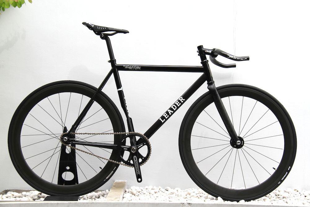 "Steel×Carbon"" LEADER BIKE 722TS Custom Complete. 