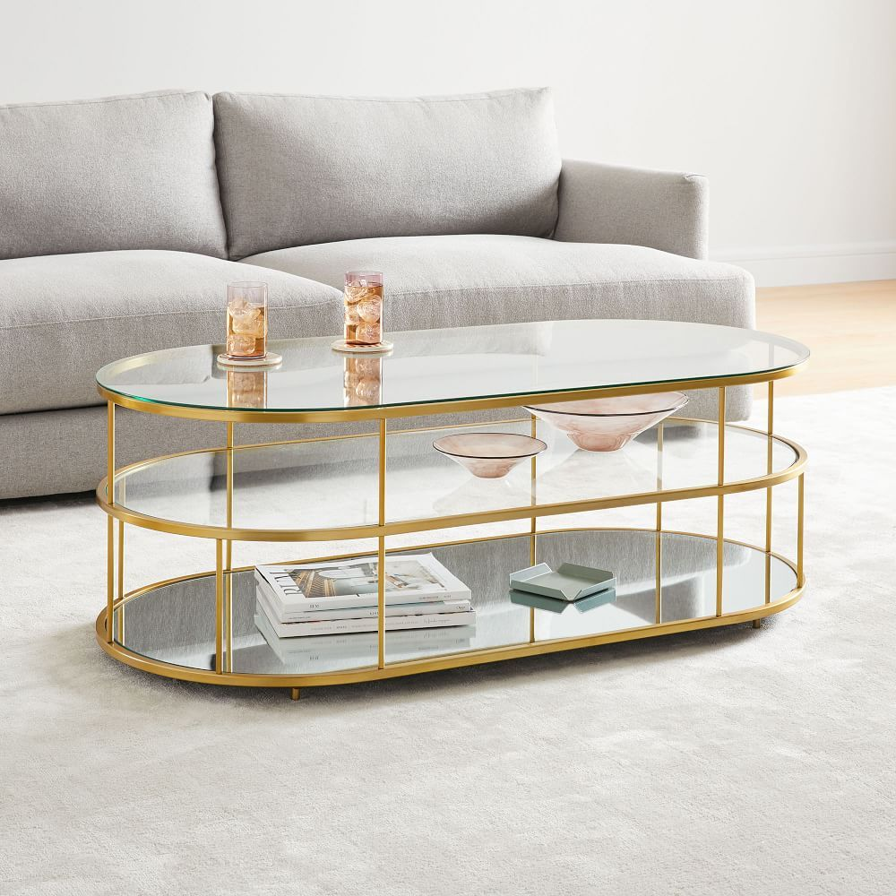 25+ West elm round gold glass coffee table inspirations