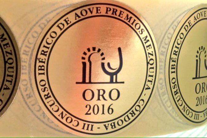 Aceite Quinta San José galardonado con el Premio Mezquita de Oro 2016.
