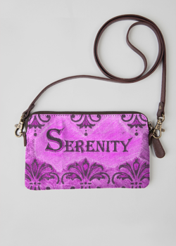 VIDA Leather Statement Clutch - Kay Duncan Serenity PClut by VIDA t0RZkHs0Z