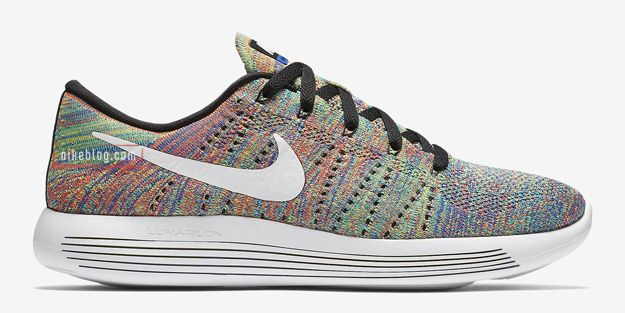 Multicolor Accents On The Nike LunarEpic Flyknit Low